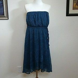 NWOT Strapless Roxy Dress